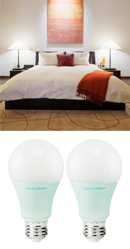 SORAA Healthy are lightbulbs designed to emit zero blue light for better sleep: Practical tech gifts