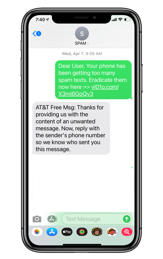 How to report spam texts by forwarding to your mobile provider | Cool Mom Tech