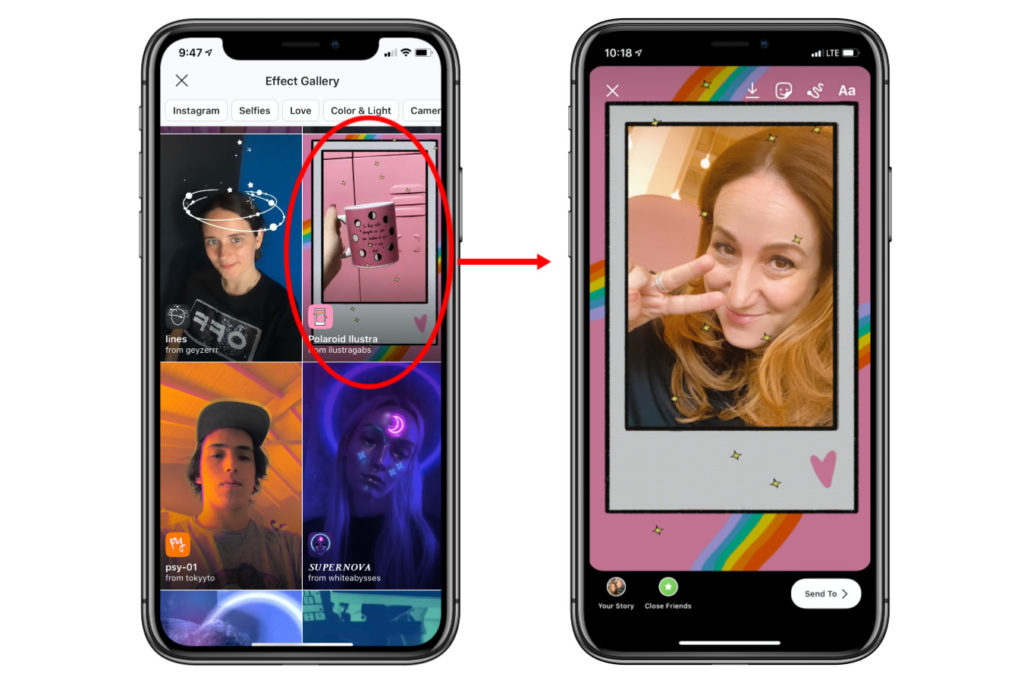 Instagram Story Filters: How to find new ones you'll love | cool mom tech
