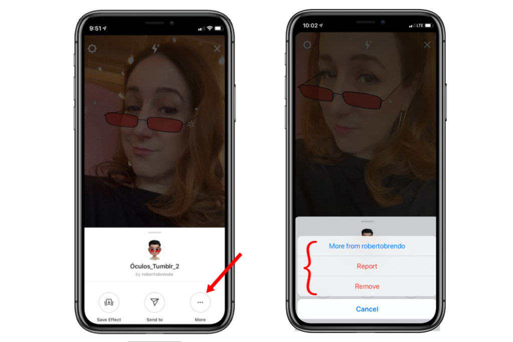 Instagram Story Filters: How to find them, save them, remove them or report them | cool mom tech