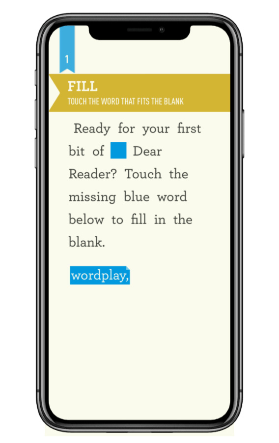 Dear Reader is a game of literary wordplay. So fun -- and you feel smart!