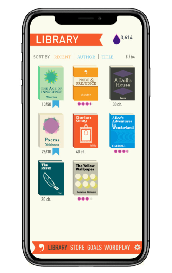 Dear Reader: The addictive Apple Arcade game for fans of literary classics