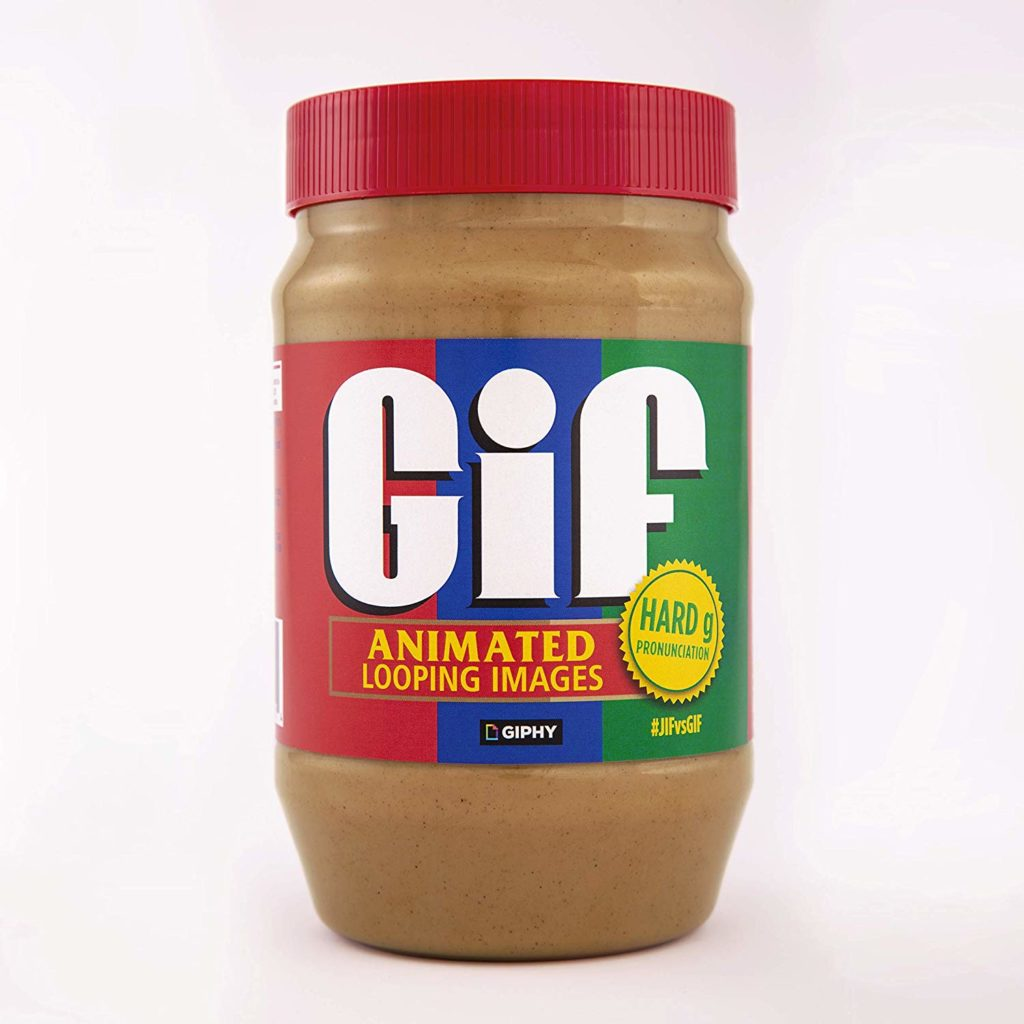 GIF limited edition peanut butter is here to resolve the #GIFvsJIF debate!