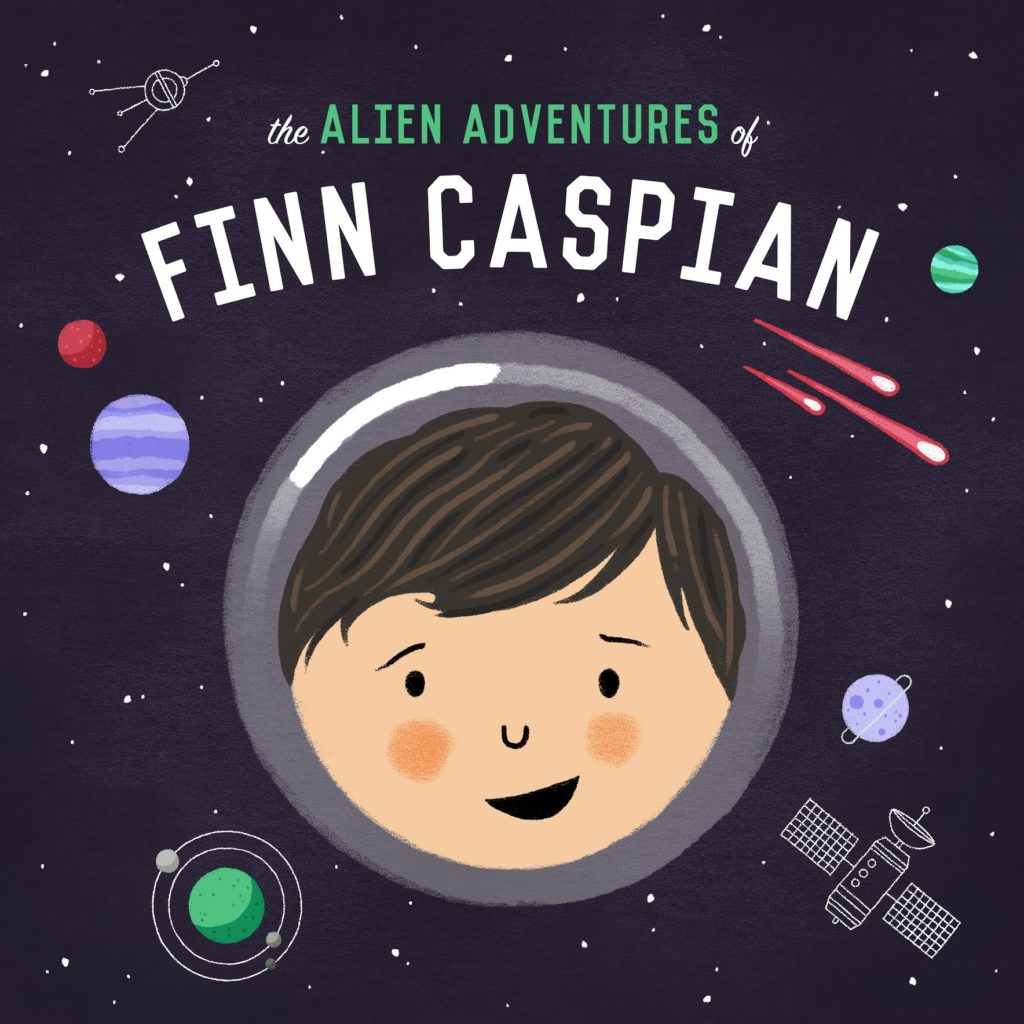 15 awesome podcasts for kids: The Alien Adventures of Finn Caspian