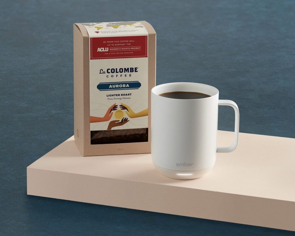 Mother's Day tech gifts: Ember and La Colombe Gift Set
