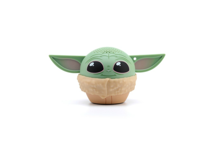 This Baby Yoda speaker is giving us the little spark of joy we needed today.