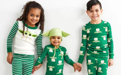 Baby Yoda pajamas! Don't worry, parents, they come in adult sizes too.