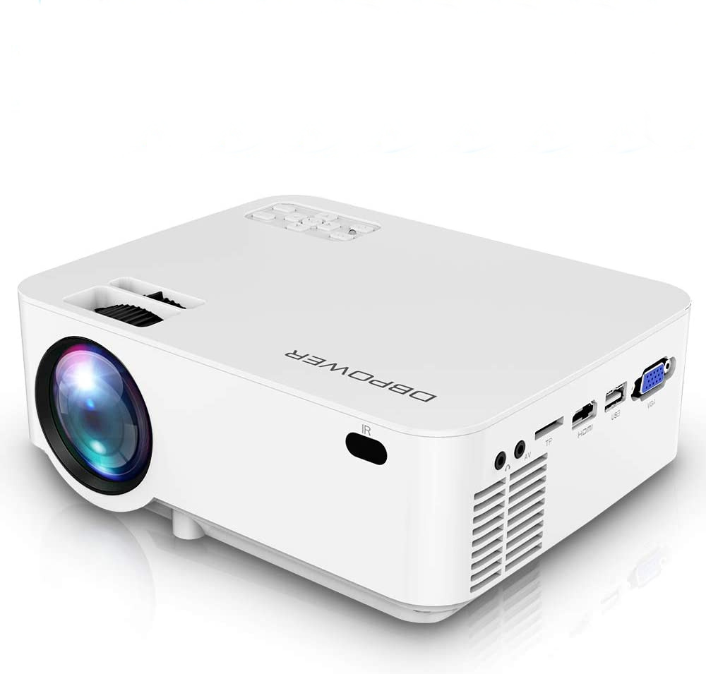 Home projectors for backyard movie nights: The DB Power mini projectoris a great option for budget-conscious consumers or anyone buying a projector primarily for their kids.