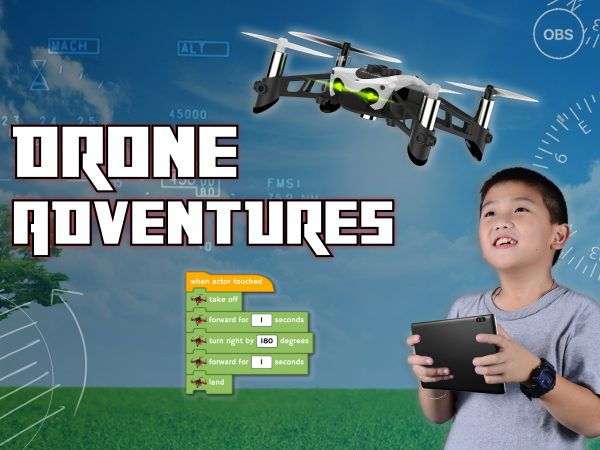Online STEM classes for kids this summer: Drone Adventures from Black Rocket