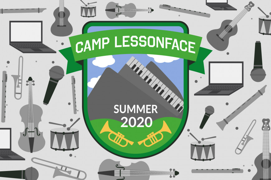 Virtual summer camps: Camp Lessonface Virtual Music Camp