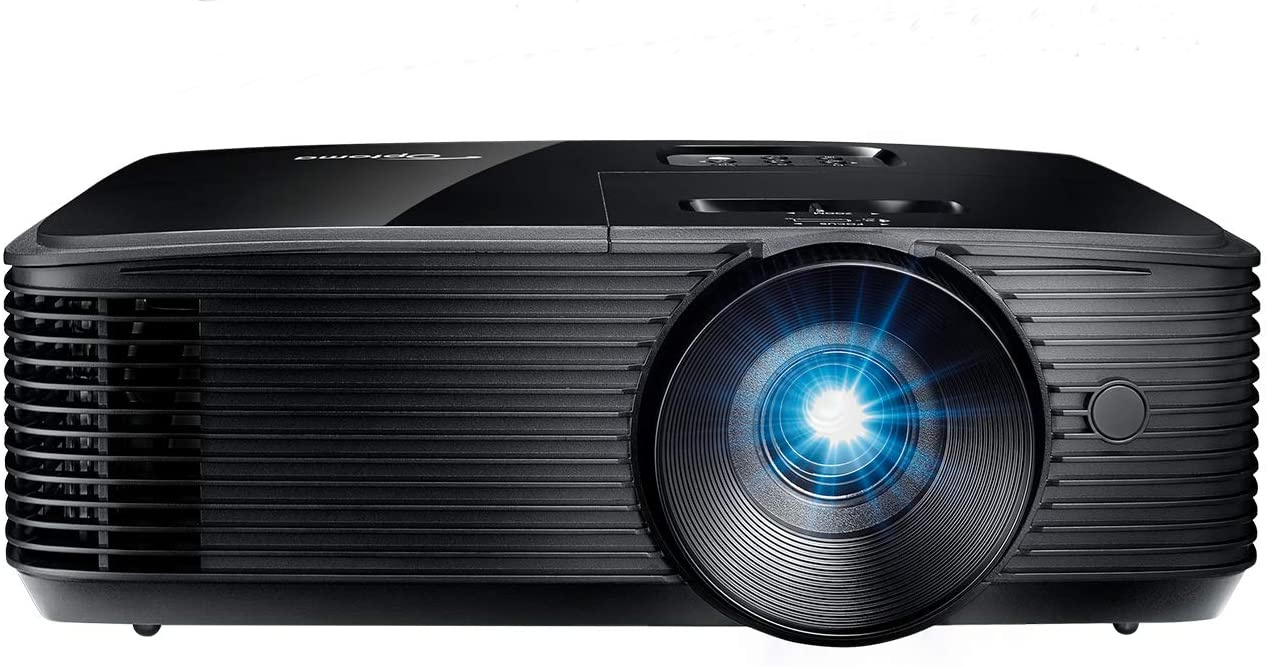 Home projectors for backyard movie nights: Gamers will love the Optoma HD146X High Performance's high contrast and low lag time.