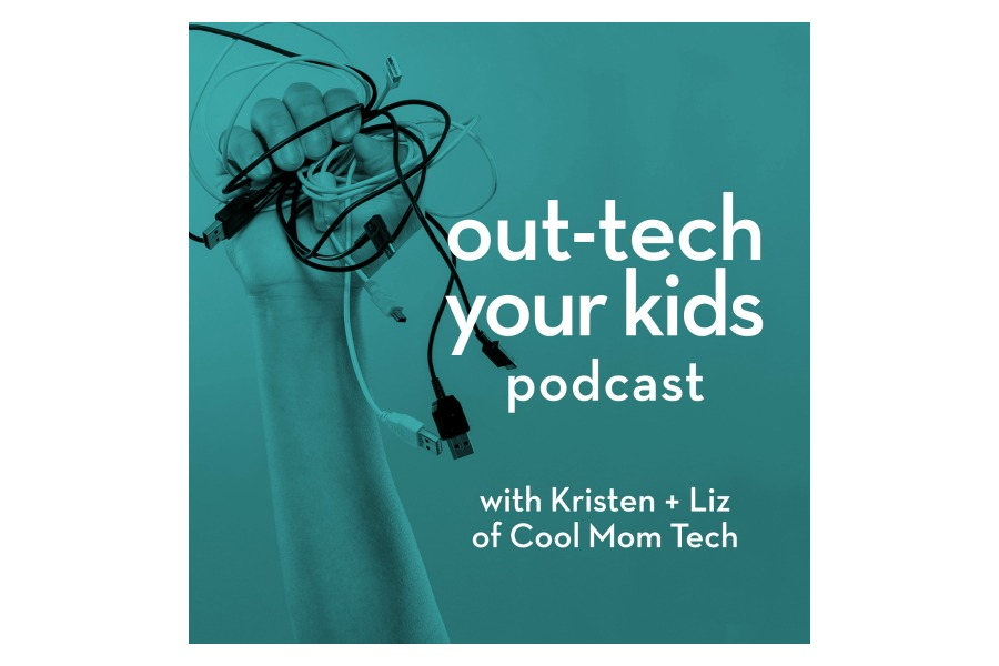 Presenting Out-Tech Your Kids, our new tech-positive podcast for the age of digital parenting