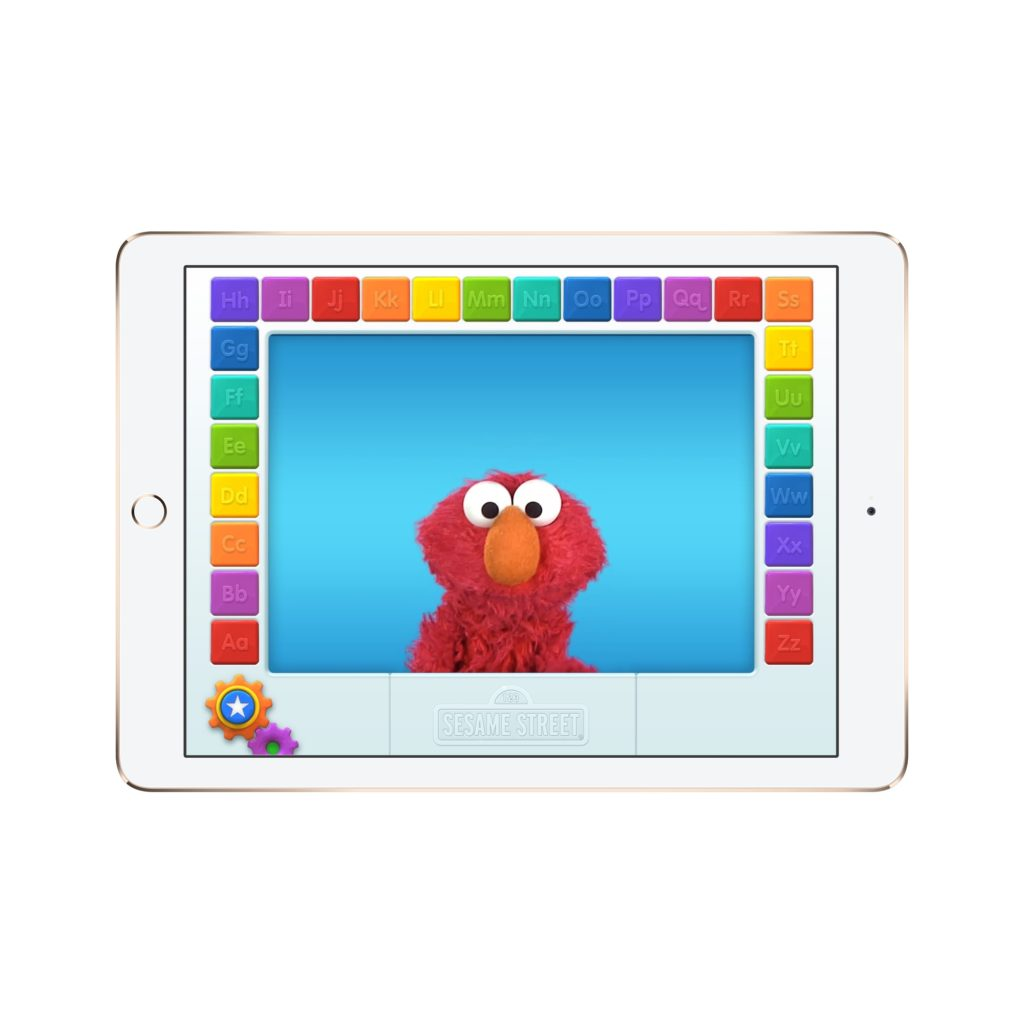 11 awesome reading apps for preschoolers and little kids: We think kids will love seeing a familiar face in this Elmo Loves ABCs app.