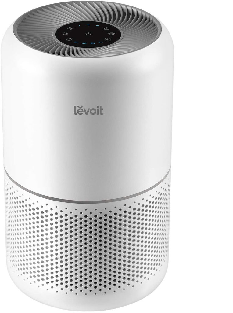 4 of the best HEPA air purifiers: The LEVOIT Air Purifier is ideal for smaller spaces like apartments.