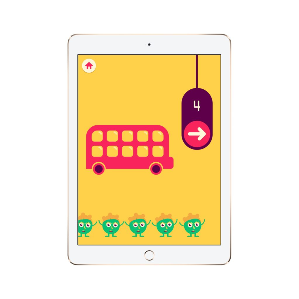 10 of the coolest math apps for preschoolers and little kids: Quick Math Jr.
