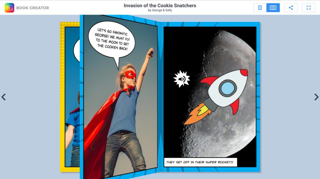 Book Creator app encourages upper elementary and middle school kids to read and write