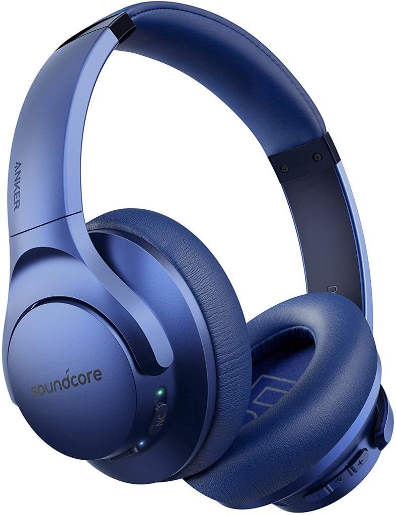 Best Headphones for Teens: Anker Soundcore Noise Cancelling Headphones.