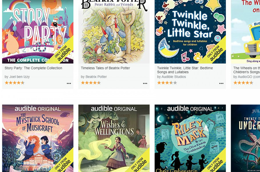 Free audiobooks for kids on Audible, just in case you missed it
