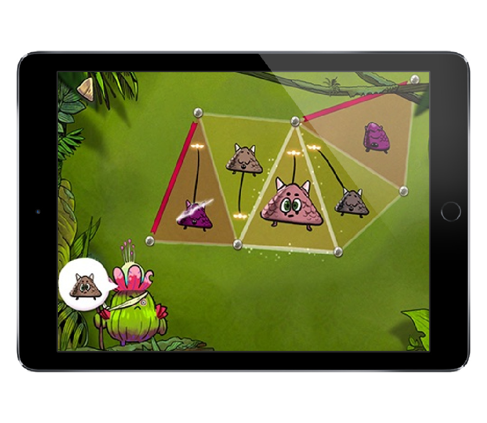 DragonBox Elements math app for upper elementary and middle school kids