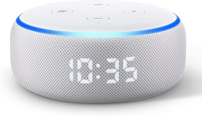 Must-have gadgets for homeschool: A 3rd Gen Echo Dot that tells time, works as a timer, plays educational podcasts and more