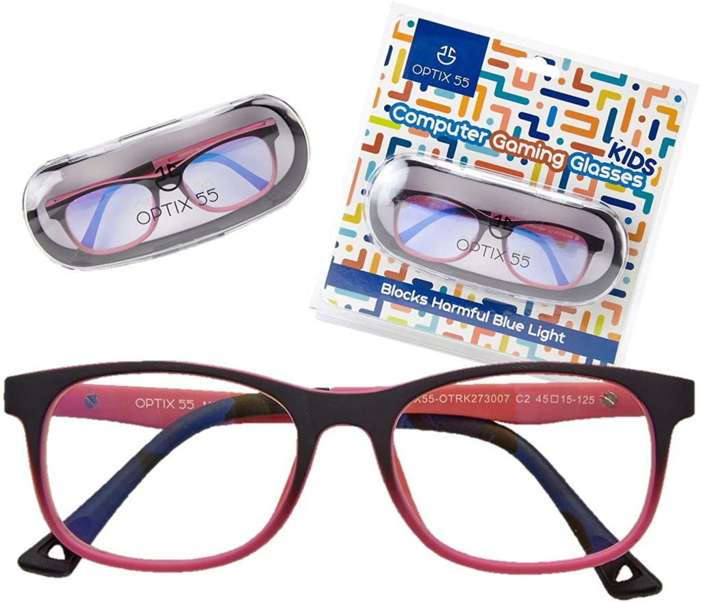 Blue light glasses for kids: Optix 55 Blue Light Glasses