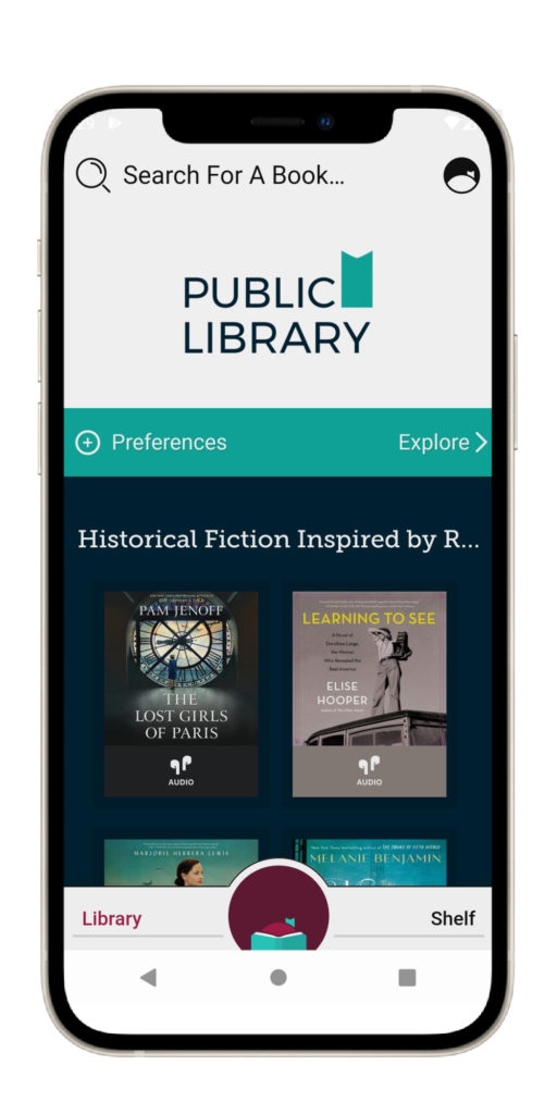 Libby by OverDrive is a terrific reading app that's free to use with any library card!