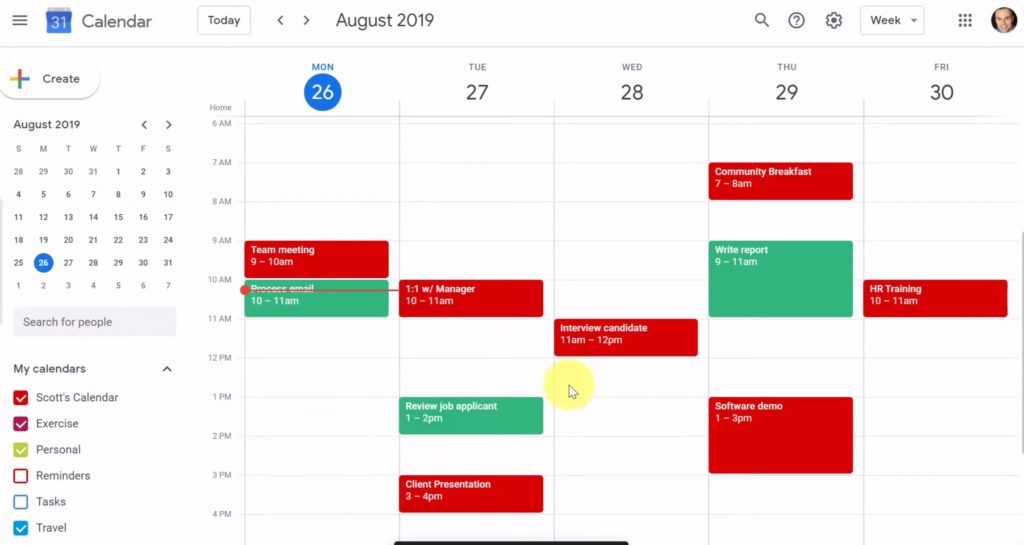 Best G-suite tutorials for online learning: Time Blocking with Google Calendar from Simpletivity