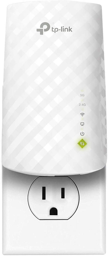 How to boost your home Wifi: A Wifi extender, like this TP-Link AC750 Wifi Extender, is one of the cheapest options to boost signal in dead spots.