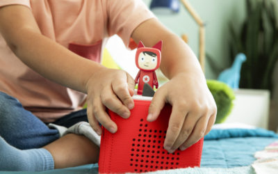 Toniebox, the new screen-free entertainment center for little kids