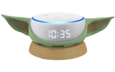 A baby Yoda stand for your Amazon Echo Dot? This is the way.