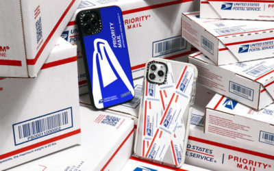 We'll be waiting at the mailbox for these USPS x CASETIFY phone accessories