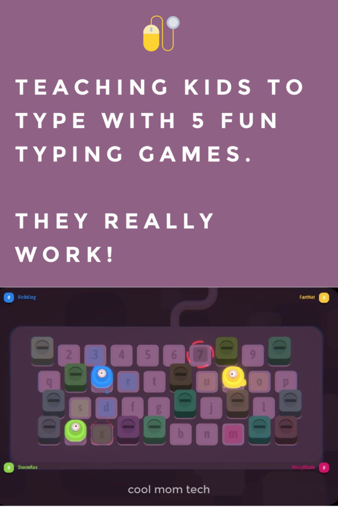 teaching kids to type with 5 fun typing games and websites: They work! | cool mom tech