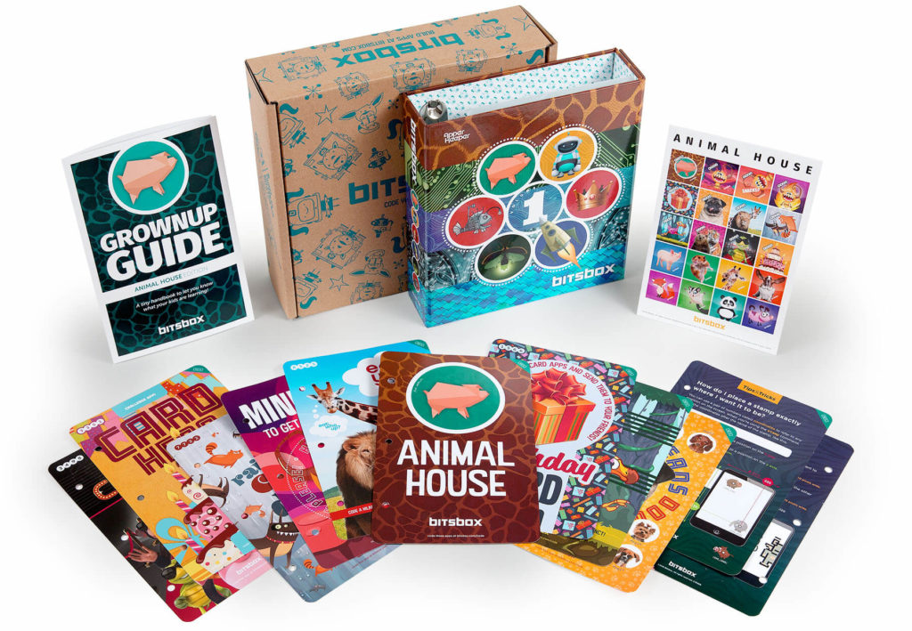Teach coding to kids in a fun way with Bitsbox monthly subscription box