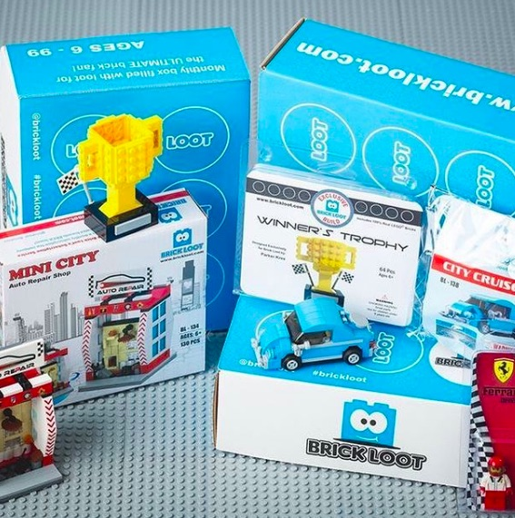 Brick Loot is a creative and fun subscription box for kids and teens who love LEGO