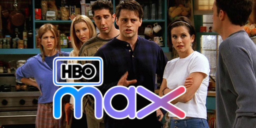 Friends is one classic included in an HBO Max subscription