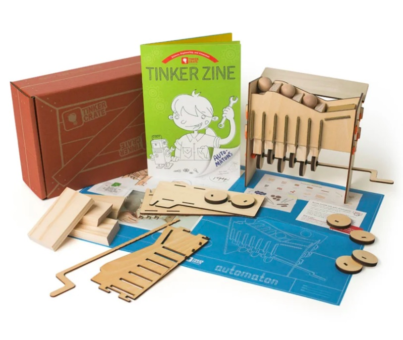 Tinker Crate subscription box sends monthly STEM projects to tweens and teens
