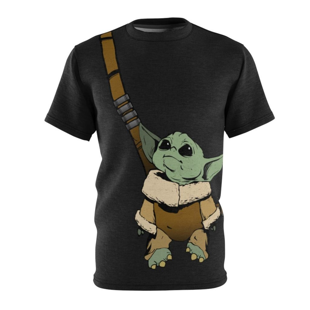 9 awesome Mandalorian gifts for Star Wars fans, young and old: Baby Yoda tee | Groundhog Tees