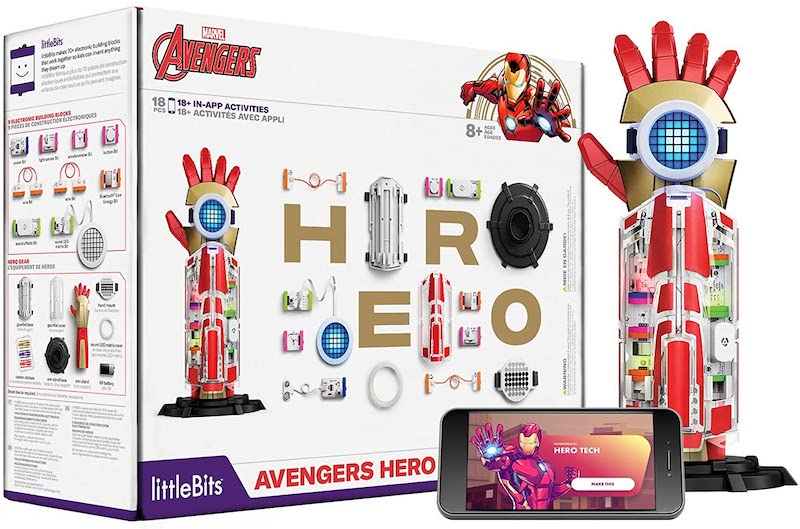 No-screen tech and STEM toys for kids: The Avengers hero inventor kit