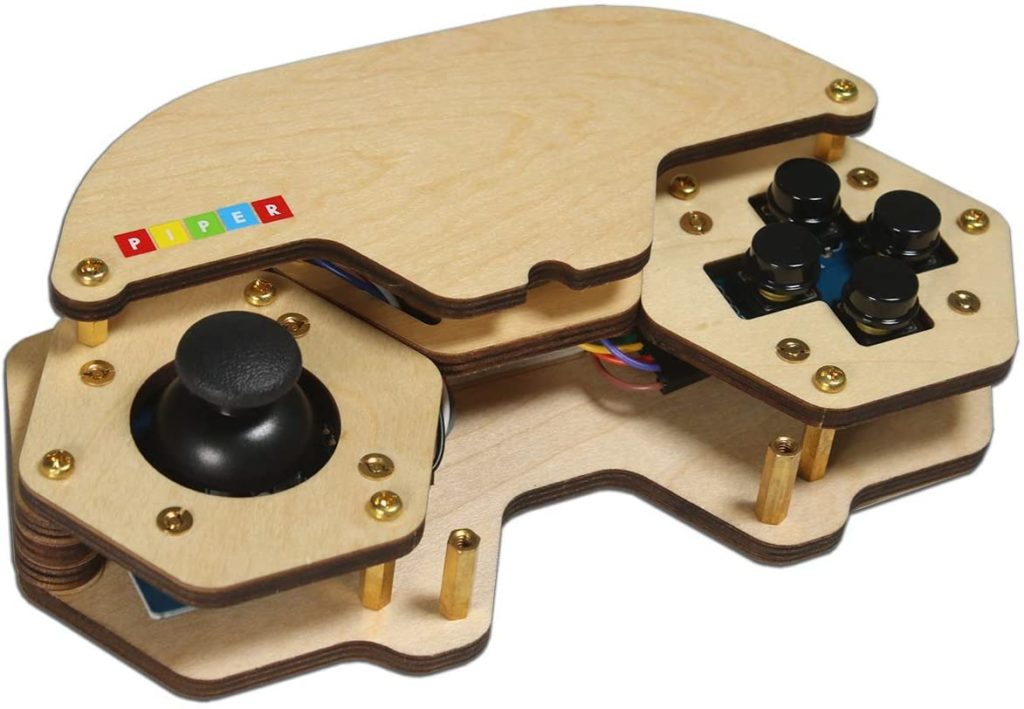 No-screen tech and STEM toys for kids: Piper's DIY video game controller kit