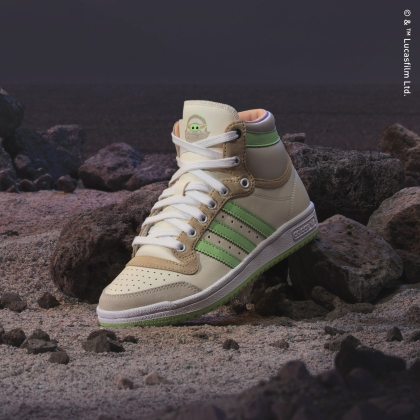 Mandalorian x Adidas: The Child sneakers