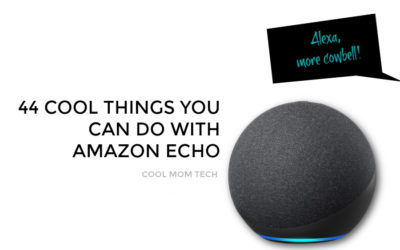 44 cool things you can do with the Amazon Echo: From productive time-savers to just plain fun.