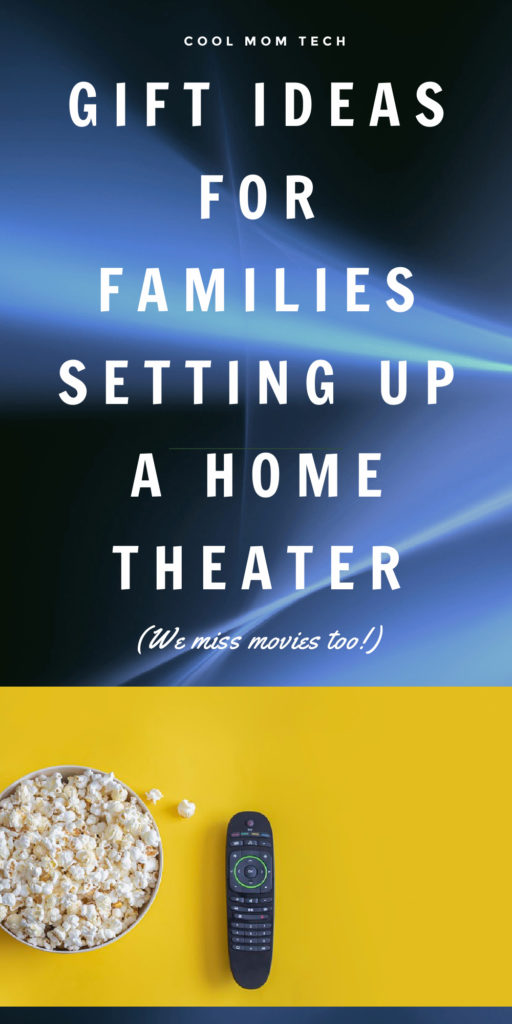gift ideas for families setting up a home theater (We miss movies too!) : CoolMomTech.com