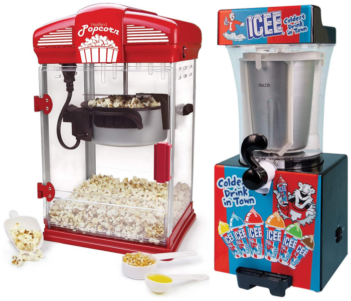 Gift ideas for a home theater: Your own snack bar!
