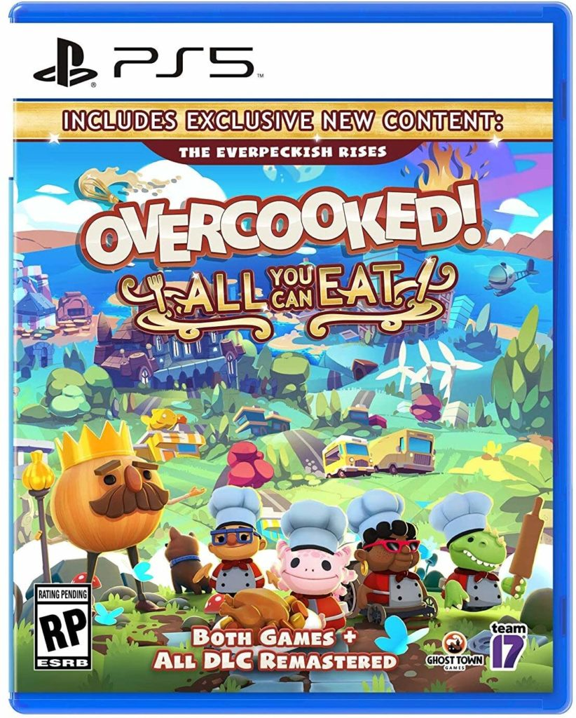 7 of the best family video games to give and play this holiday: Overcooked: All You Can Eat