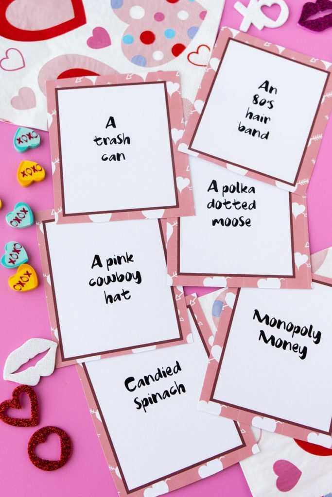 Host a Valentine's Day Zoom party for your kids with this fun card game from Play Party Plan