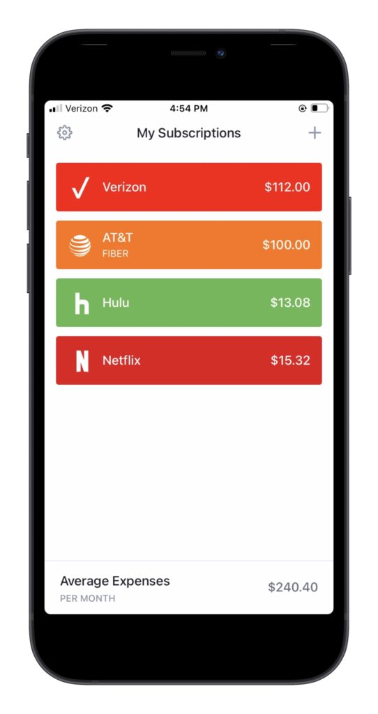 Apps to help you manage subscriptions: Bobby