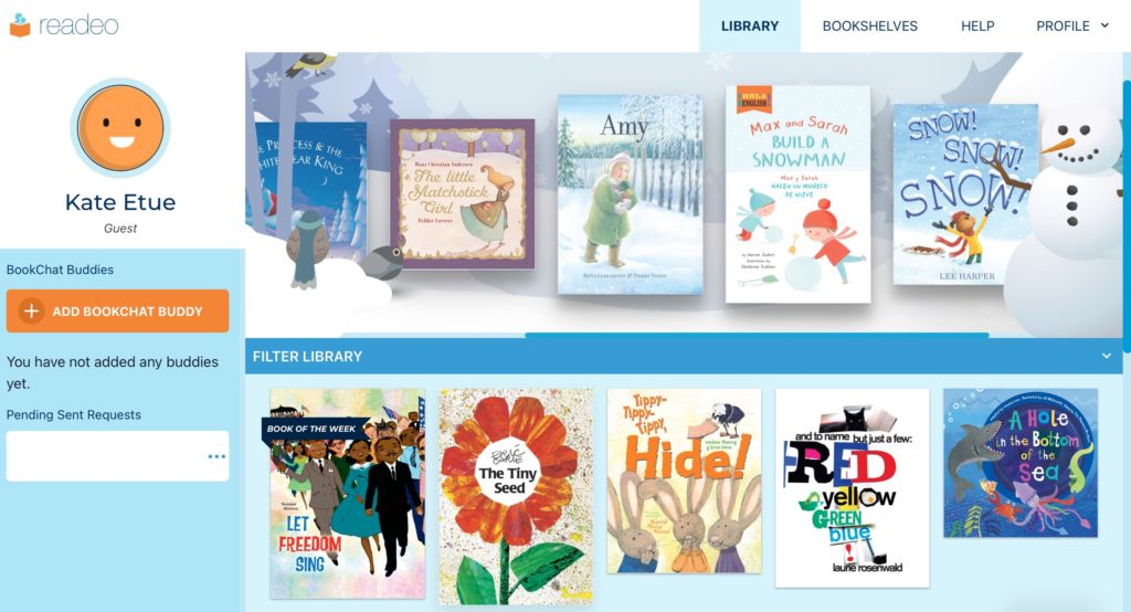 Choose from diverse, celebrated children's books to read with family or friends on Readeo.