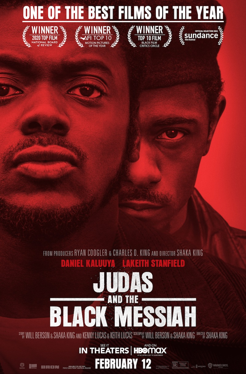 Where to stream Judas and the Black Messiah | 2021 Oscars best picture nominees