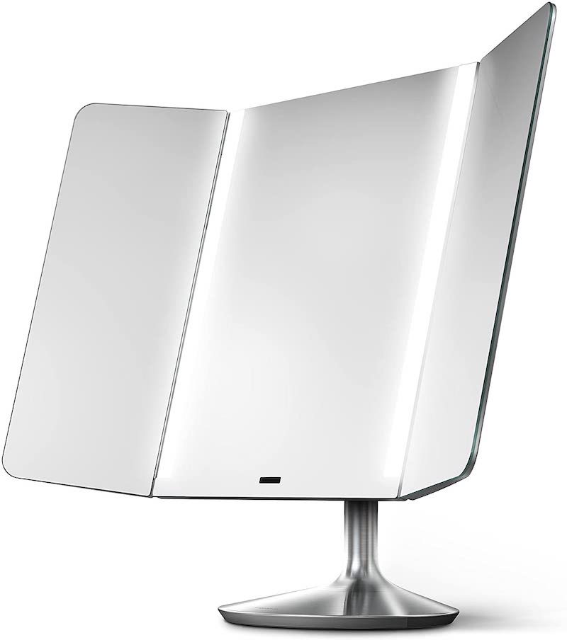 High-tech beauty gifts for Mother's Day: simplehuman makeup mirror