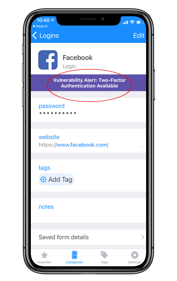 Setting up 2-factor authentication on Facebook to prevent hacks